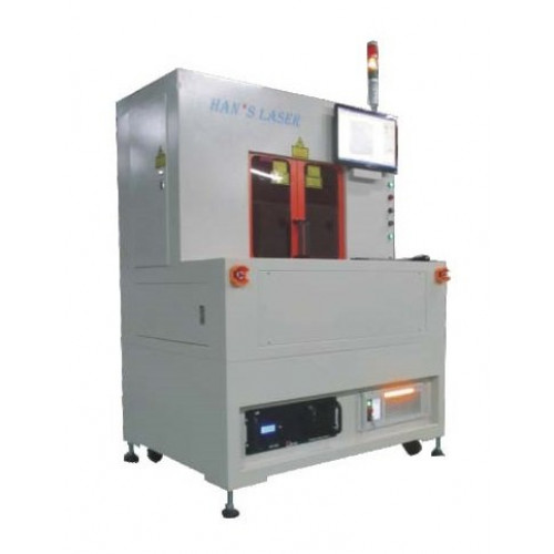 Лазерный резак Han's Laser PLC30 по керамике волоконный лазер