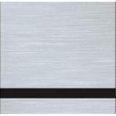 Пластик для гравировки Metalgraph plus 1,6 мм сатиновое серебро/черный