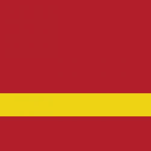 Пластик для гравировки Satins красно-желтый