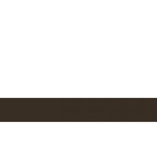 Пластик для гравировки Satins белый\темно-коричневый