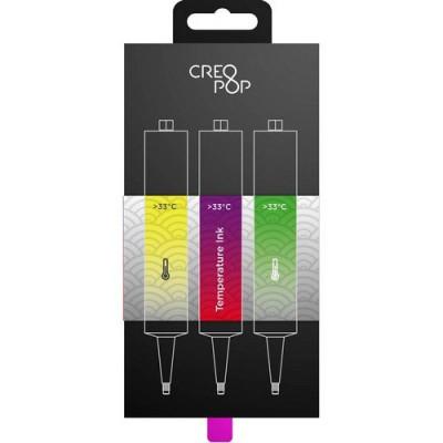 Набор для 3D-ручки Creopop (фиолетово-красный, зеленый, желтый)
