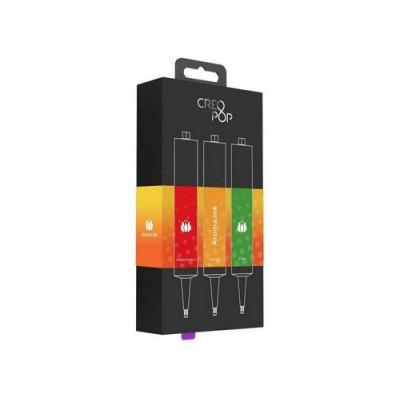 Набор для 3D-ручки Creopop (красный, оранжевый, зеленый)