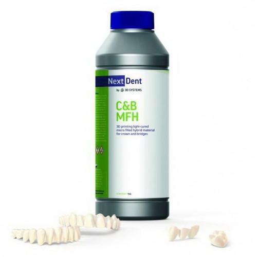 Фотополимер NextDent C&B MFH (Micro Filled Hybrid)