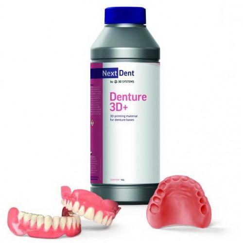 Фотополимер NextDent Denture 3D+ красно-розовый