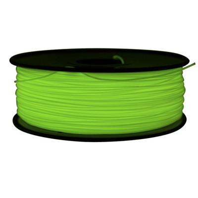 ABS пластик FL-33 1,75 флуор. зеленый 1 кг