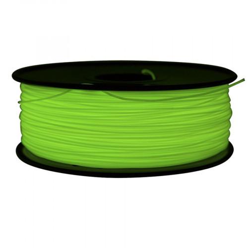 ABS пластик FL-33 1,75 флуоресцентный зеленый 1 кг