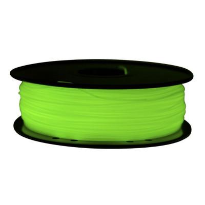 ABS пластик FL-33 1,75 светящ. зеленый 1 кг