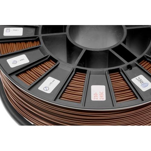 ABS пластик 2,85 REC коричневый RAL8007 0,75 кг