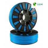 PLA пластик 1,75 SEM синий 0,8 кг