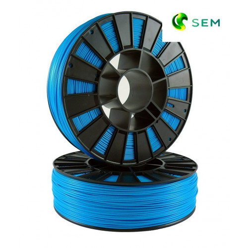 ABS пластик 1,75 SEM голубой 0,8 кг
