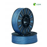PLA пластик 1,75 SEM синий металлик 0,8 кг