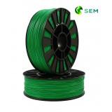 PLA пластик 1,75 SEM темно-зеленый 0,8 кг