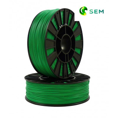 ABS пластик 1,75 SEM зеленый 1 кг
