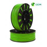 PLA пластик 1,75 SEM зеленый 0,8 кг