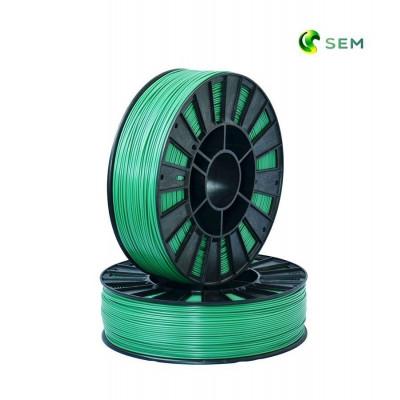 ABS пластик 1,75 SEM зеленый металлик 0,8 кг