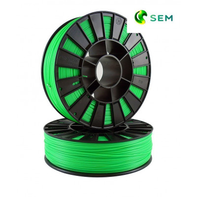 ABS пластик 1,75 SEM флуор. зеленый 0,95 кг