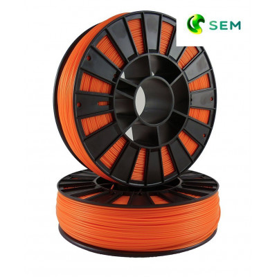 ABS пластик 1,75 SEM оранжевый 0,8 кг
