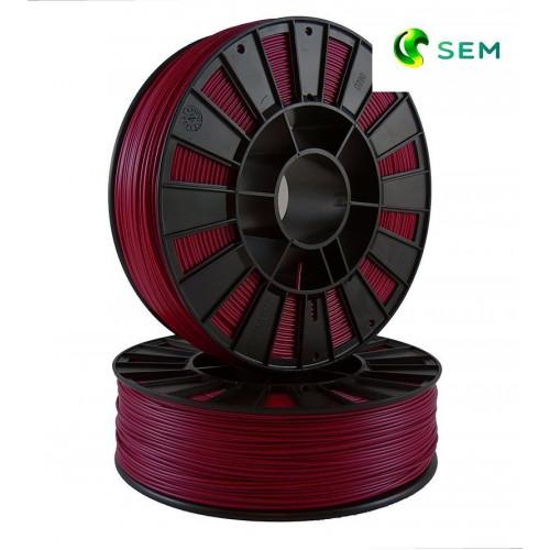 ABS пластик 1,75 SEM бордовый 0,8 кг