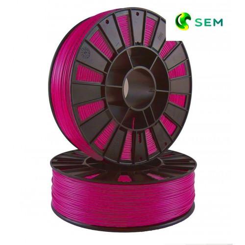 PLA пластик 1,75 SEM розово-малиновый 0,8 кг