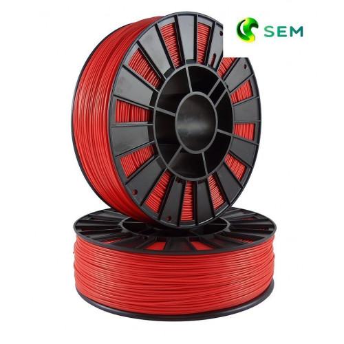 ABS пластик 2,85 SEM красный 1 кг