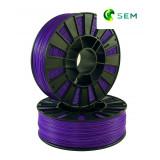ABS пластик 1,75 SEM фиолетовый 0,8 кг