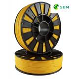 ABS пластик 1,75 SEM желтый 1 кг