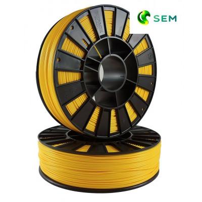 ABS пластик 1,75 SEM желтый 0,95 кг