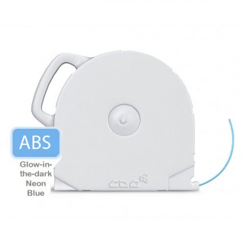 ABS пластик CubeX свет. в темноте синий 1 кг