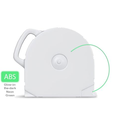 ABS пластик CubeX свет. неон. зеленый 1 кг