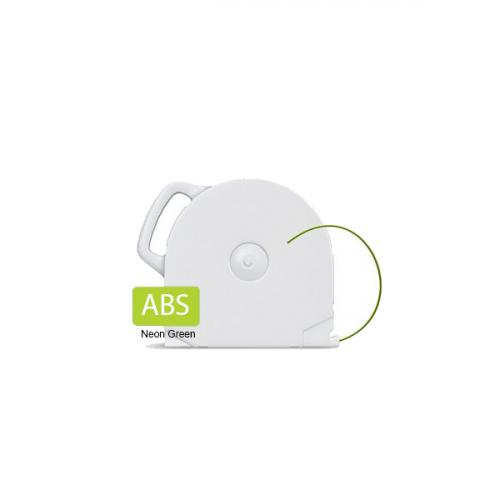 ABS пластик  CubeX неоновый зеленый 1 кг