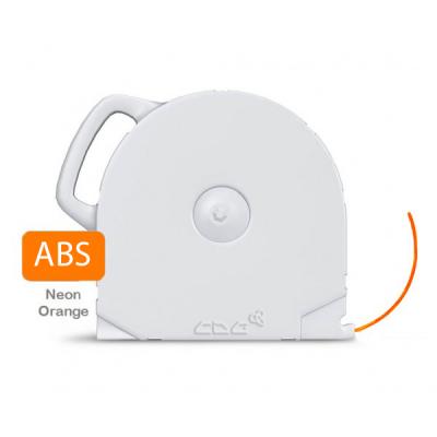 ABS пластик CubeX неон. оранжевый 1 кг