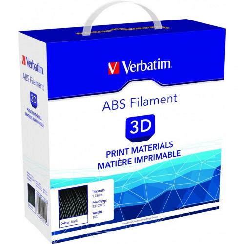 ABS пластик 2,85 Verbatim черный 1 кг