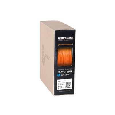 Пластик Filamentarno S-Soft оранжевый 0,75 кг