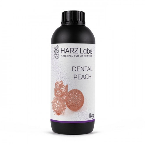 Фотополимер HARZ Labs Dental Peach LCD/DLP 1 л