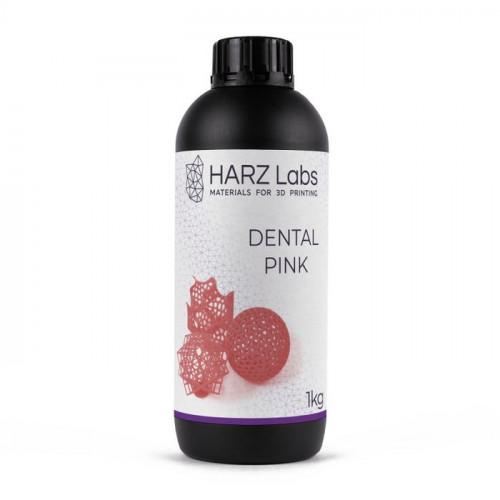 Фотополимер HARZ Labs Dental Pink LCD/DLP 1 л