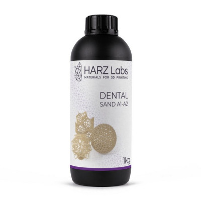 Фотополимер HARZ Labs Dental Sand SLA/Form-2 0,5 л