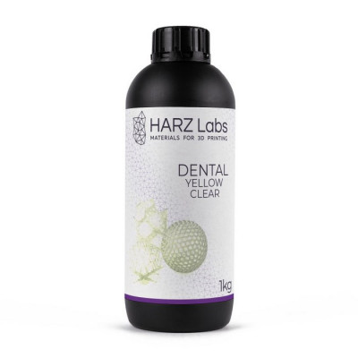 Фотополимер HARZ Labs Dental Yellow Clear LCD/DLP 0,5 л