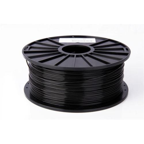 PLA пластик FL-33 1,75 черный 1 кг