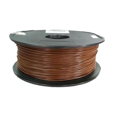 PLA пластик FL-33 1,75 коричневый 1 кг