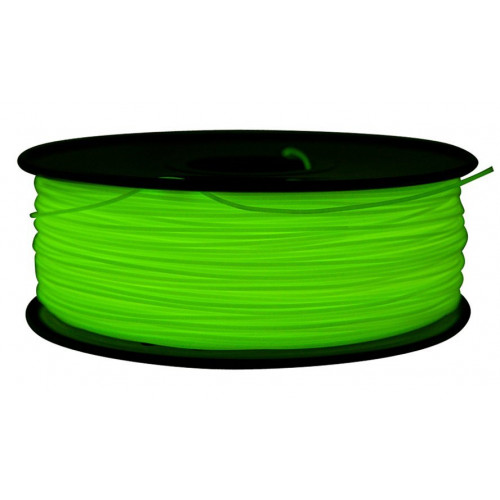 PLA пластик FL-33 1,75 флуоресцентный зеленый 1 кг