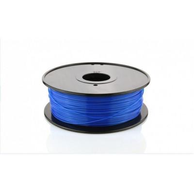 PLA пластик FL-33 1,75 светящийся синий 1 кг