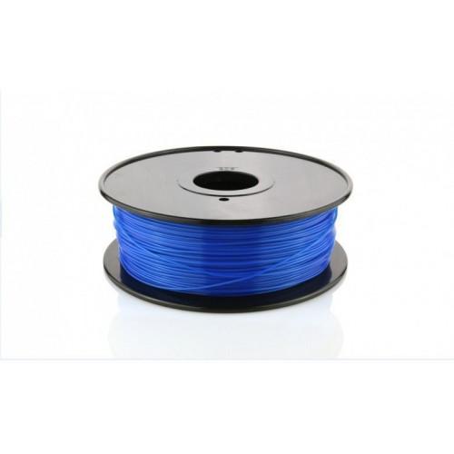 PLA пластик FL-33 1,75 светящ-синий 1 кг