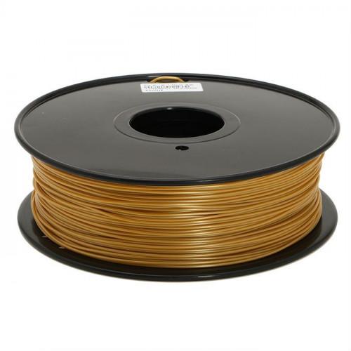 PLA пластик FL-33 1,75 золотой 1 кг