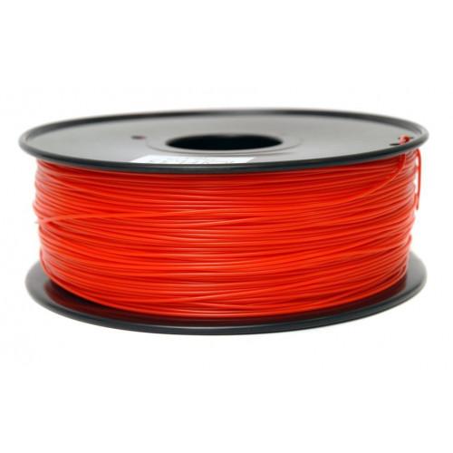 PLA пластик FL-33 1,75 красно-прозрачный 1 кг