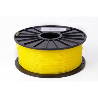 PLA пластик FL-33 1,75 желтый 1 кг