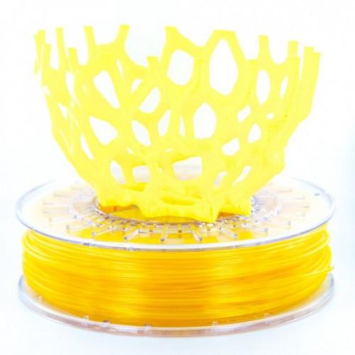 PLA пластик Colorfabb 1,75 yellow trans. 0,75 кг