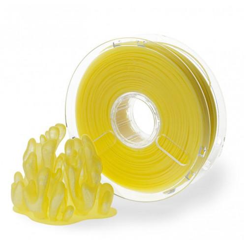 Пластик PolyPlus PLA 1,75 желтый прозрачный 0,75 кг