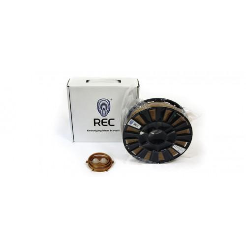 PLA пластик 1,75 REC Gold 0,75 кг