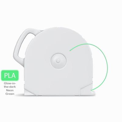 PLA пластик CubeX светящ. неон. зел. 1 кг