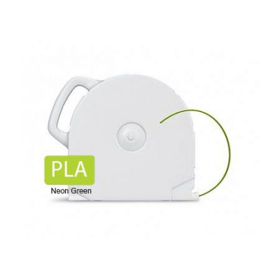 PLA пластик CubeX неон. зеленый 1 кг